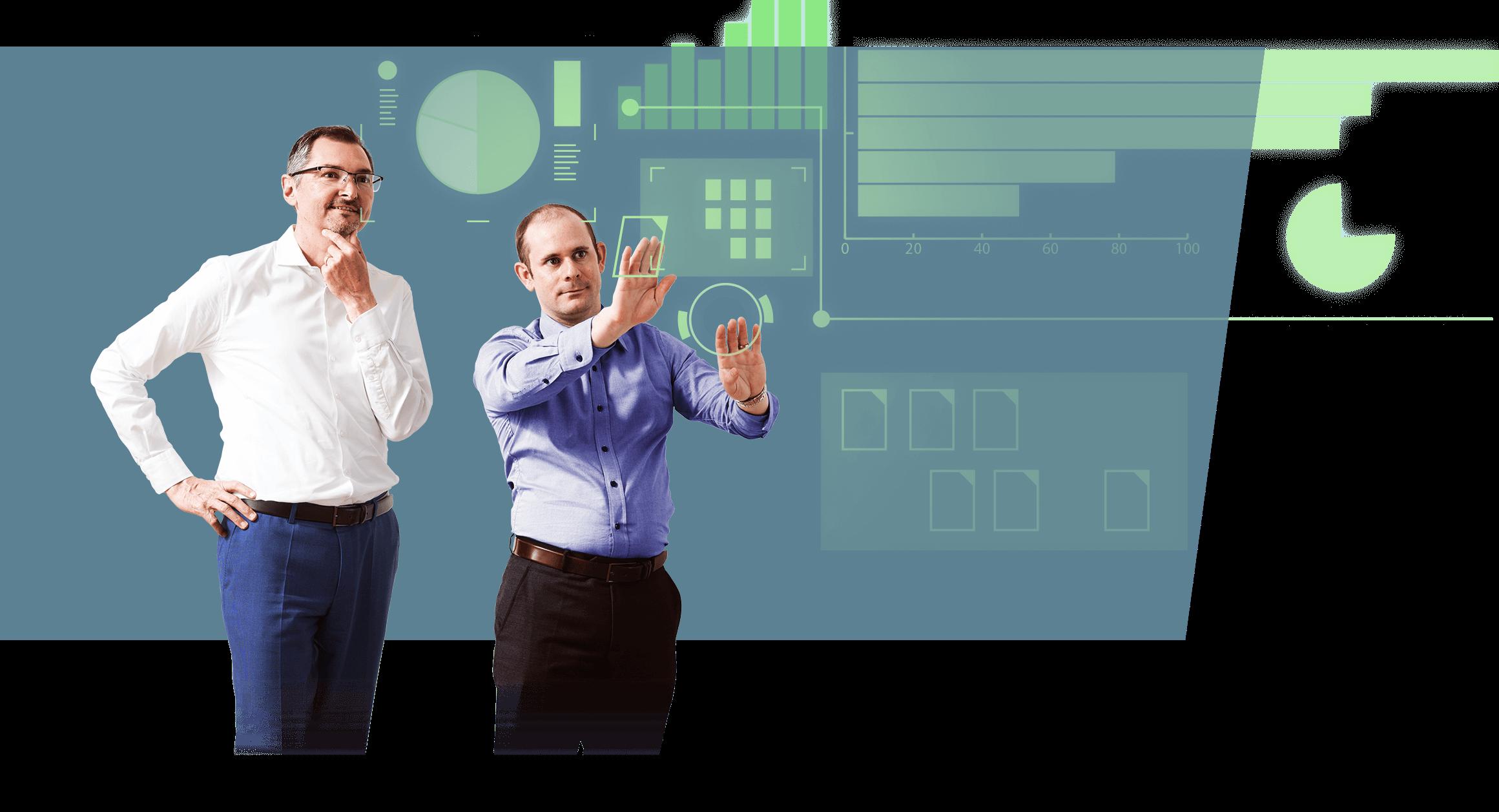 Nur mit qualitativ hochstehenden Daten ist ein optimale Digitalisierung und Automatisierung überhaupt möglich. Wir sorgen für die optimale Datenqualität bei der Transformation.